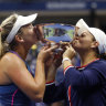 Ash Barty wins US Open doubles crown