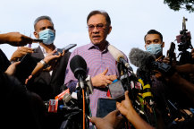 Anwar Ibrahim is among the political leaders who have visited the royal palace in the past two days.