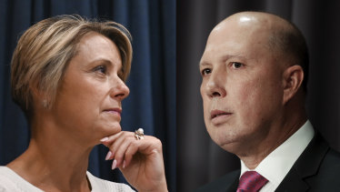 "Kristina Keneally said Home Affairs Minister Peter Dutton was responsible for a ""crisis"" greater than the boat arrivals under Labor."