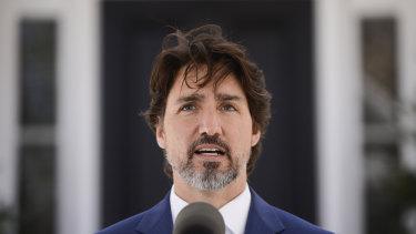 Canada PM Justin Trudeau.