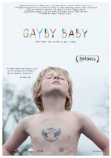 Gus Skattebol-James on the movie poster for Gayby Baby.