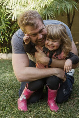 With plans for a second child, Rob Sturrock looked for an employer with paid parental leave for fathers.