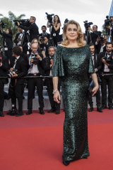 Catherine Deneuve at Cannes last year.