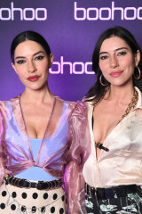 The Veronicas: Lisa Origliasso and Jessica Origliasso.