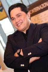 Erick Thohir, Indonesia's Minister for State-Owned Enterprises.