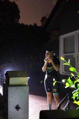 In Petersham, Krista King sets the alarm for 4.45am to head out for a cycle.