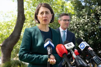 NSW Premier Gladys Berejiklian says her health advice is to keep the border with South Australia open.
