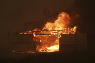 Bushfires destroyed thousands of buildings across eastern Australia and claimed about three dozen lives.
