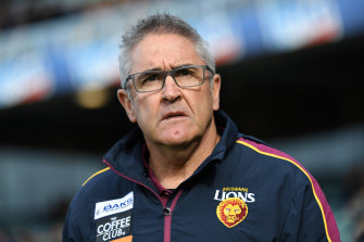 Chris Fagan has been named as coach of the year by his peers after Brisbane's dramatic turnaround in 2019.