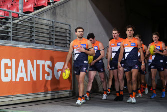 Stephen Coniglio's first season as the outright captain of the GWS Giants will be preserved on film.