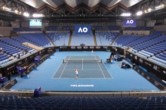 Melbourne Park will come to life for the Australian Open.