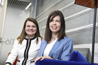 Lucy Foster and Catherine van der Veen share a CEO job.