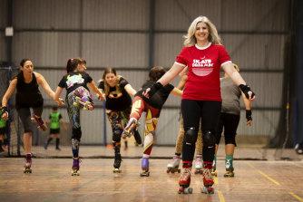 Rachel Franco has rediscovered her love of roller skating.