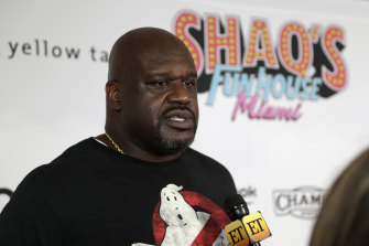 Shaquille O'Neal is a brand ambassador for PointsBet.
