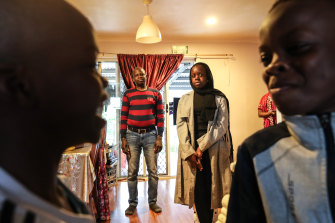 Khames Jumma and his daughter Aza were sold ineffective online tutorials valued at thousands of dollars and are now being pursued by debt collectors.