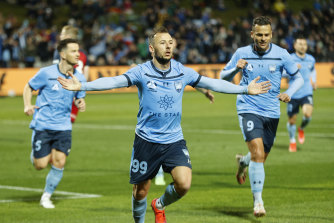 Hunting for three: Sydney FC are on the cusp of becoming the first A-League team to win three successive titles.