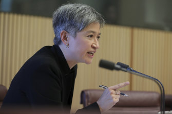 Labor senator Penny Wong fears federal government budget cuts are forcing the National Library of Australia to limit its Asia collections.