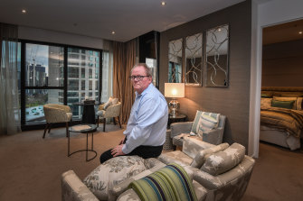 Creaking noises have forced Michael Taranto to sell his dream home in the Prima Pearl tower.