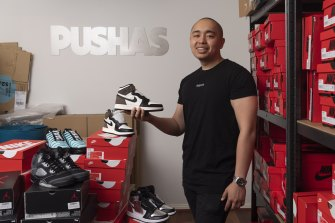 Justin Truong is the co-founder of sneaker marketplace PUSHAS and a fund that invests in sneakers.