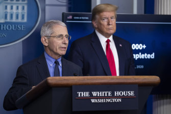 In April the White House began to muzzle Dr Anthony Fauci, the director of the National Institute of Allergy and Infectious Diseases.