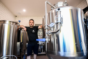 Coburg Brewing Co is racing to get its beer back in bars during the festive season.