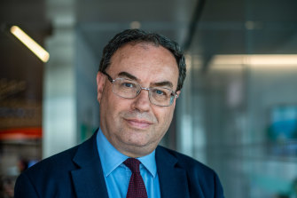Bank of England governor Andrew Bailey.