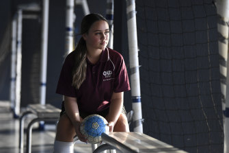 Arekahanara Allen, 13, is one of many players whose families had forked out for an overseas tour with the Australian Futsal Association this year.