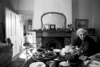 Nora Heysen at 80 in her home at Hunters Hill.