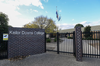 Keilor Downs College has been forced to shut three times this year due to a positive case.