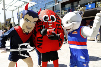 The Melbourne Demons and the Western Bulldogs will face off for the premiership in Perth on Saturday.