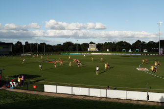 St Kilda's base at Moorabbin could be an option for AFL games if the 2020 season resumes and pushes into the traditional cricket season.