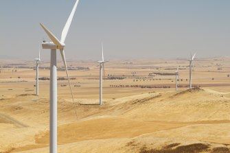 Silverton Wind Farm Project is being built in north-western NSW.