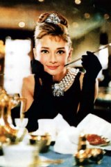 Audrey Hepburn in the 1961 film, <I>Breakfast at Tiffany's</I>.