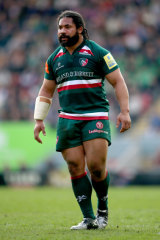 Warmed up: The hooker has returned from a heatwave in England where he's been with the Leicester Tigers.