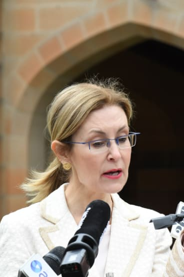 Gabrielle Upton announces the University of Sydney heritage listing.