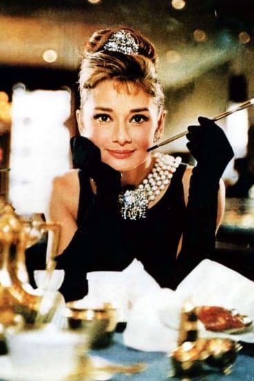 Audrey Hepburn in the 1961 film, <I>Breakfast at Tiffany's</I>.