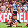 Embarrassed Maroons enforcer Kaufusi has 'kept the receipts' from Luai blast