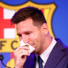 'As long as I can, I will carry on': Messi farewells Barca as PSG circle