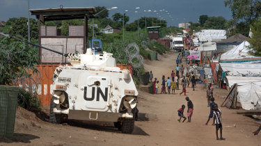 UN peacekeeping forces will stay in South Sudan.