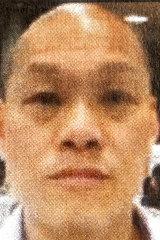 Alleged Triad boss Chung Chak Lee