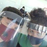 We kept our masks.