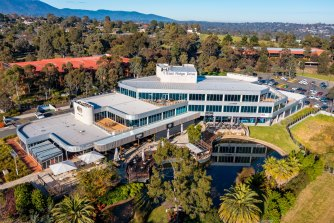 United Property Fund Ltd has put its Chirnside Park office and retail complex on the market.