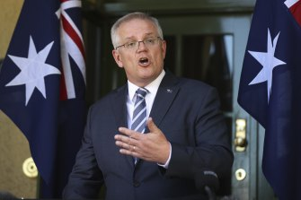 Mr Morrison said French anger over the broken deal was inevitable.