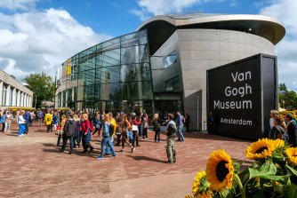 The Van Gogh Museum in Amsterdam. Research has altered the way art historians see some of the artist's works.