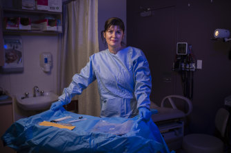 Circuit breaker: Dr Maria Nittis heads up the forensic medical unit at Blacktown Hospital in Sydney's west.