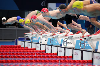 Aussie duo Liam Schluter and Ricky Betar finished fourth and seventh in the men's 200m freestyle S14.