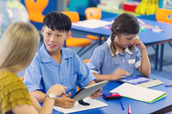 The pandemic has hugely disrupted the lives of Victoria's schoolchildren.