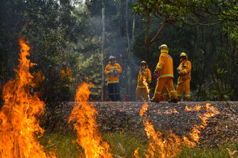 Victoria spends more than any other state on fire fighting