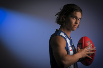 In like Flynn: North Melbourne took Flynn Perez with pick 35.