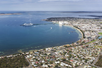 Port Lincoln rests on South Australia's Eyre Peninsula.